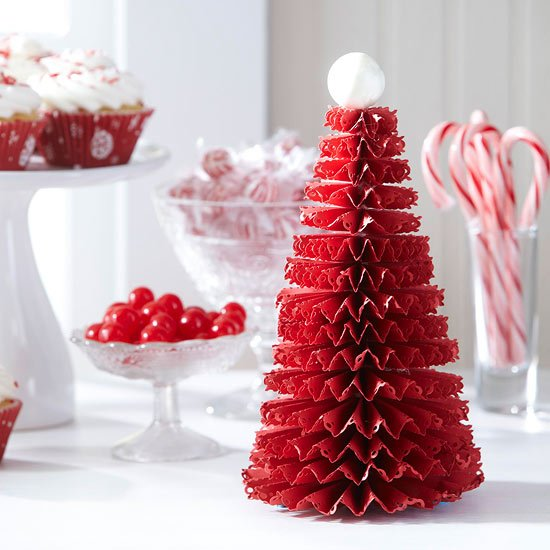 Fun Christmas Table Decorations: 50 DIY Mini Christmas Trees