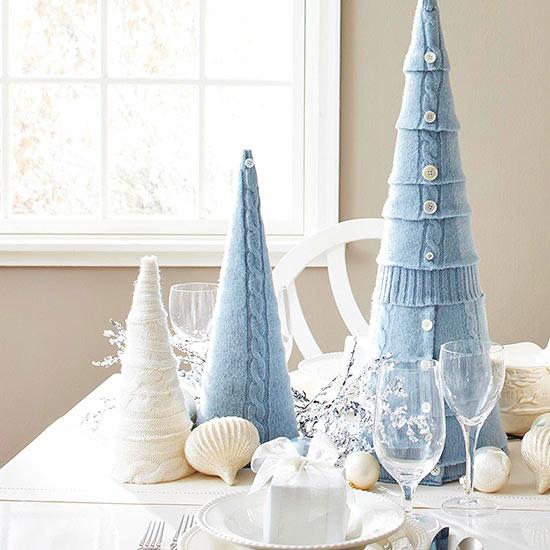 Diy Christmas Tree Sweater: 50 DIY Mini Christmas Trees