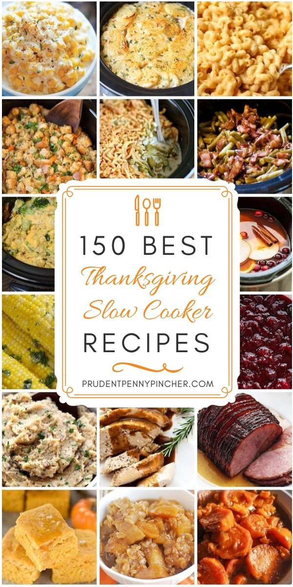 150 Best Crockpot Thanksgiving Recipes