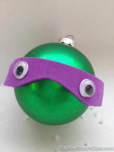Ninja Turtle Ornament