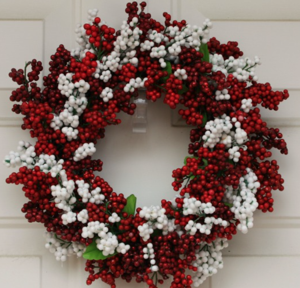 75 cheap easy diy christmas wreaths prudent penny pincher Simple christmas wreaths