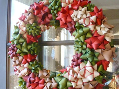 100 Cheap And Easy Diy Christmas Wreaths Prudent Penny