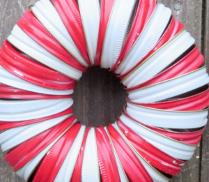 wreath-jar