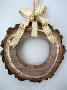 wreath-woodslice