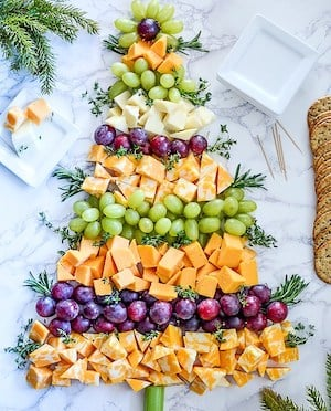 Oh Christmas Tree Cheese Board