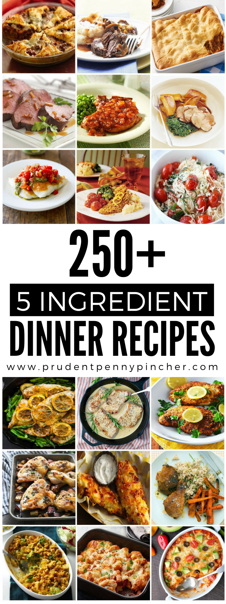 5-ingredient dinner recipes