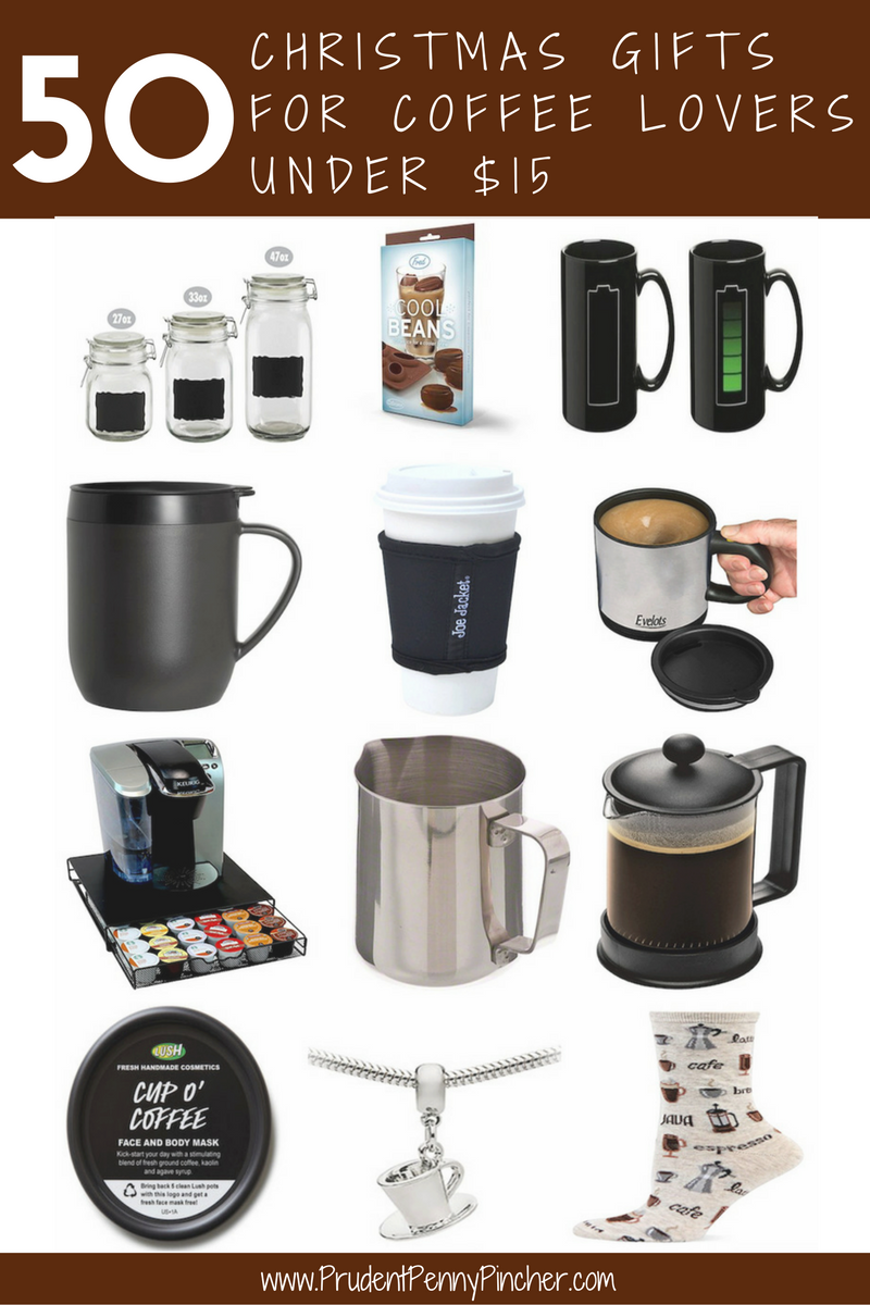50 christmas gifts for coffee lovers under 15