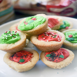 Christmas Cookie Cups