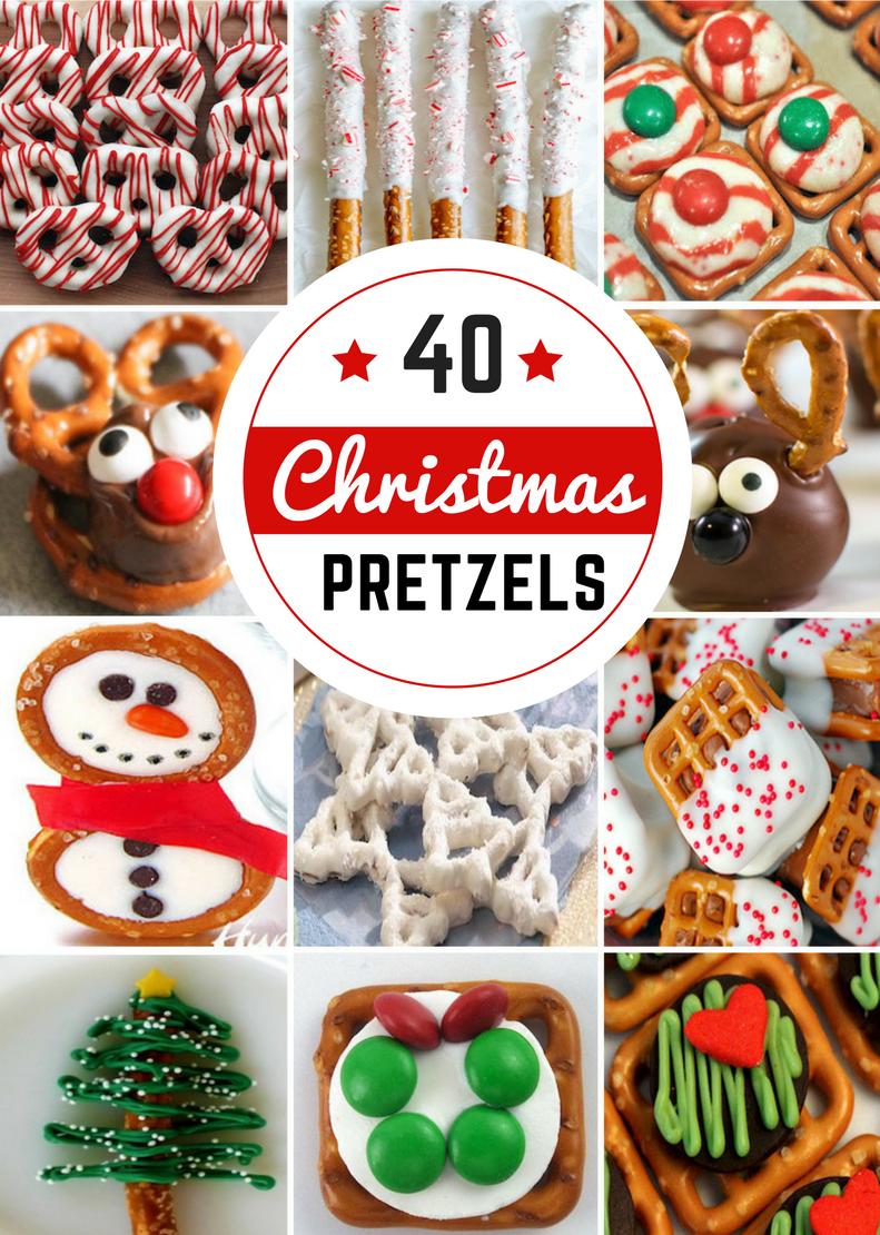40 Pretzel Christmas Treats - Prudent Penny Pincher