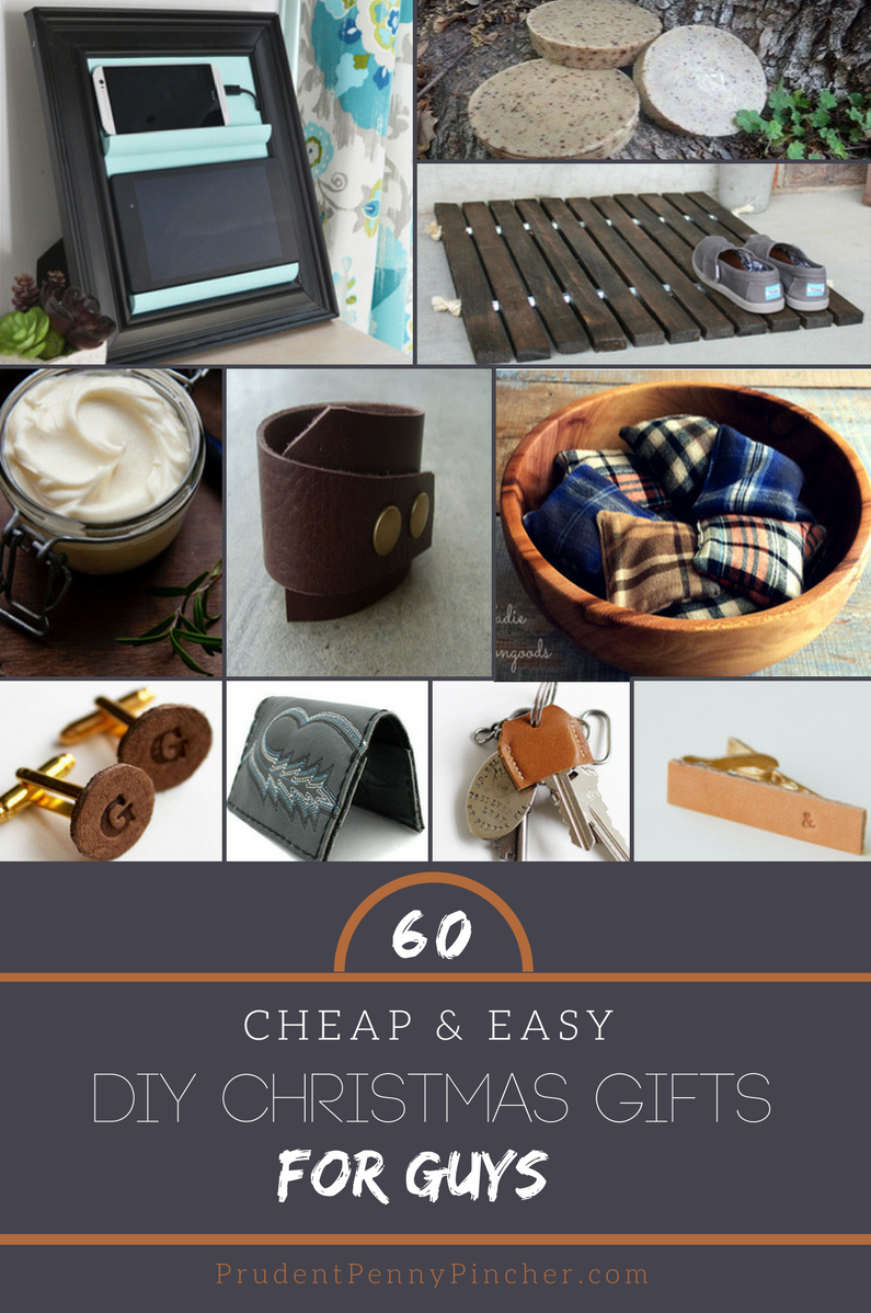 60 Cheap & Easy DIY Christmas Gifts for Guys - Prudent Penny Pincher