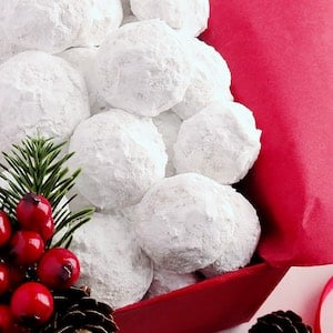 100 Snowball Christmas Cookies Prudent Penny Pincher