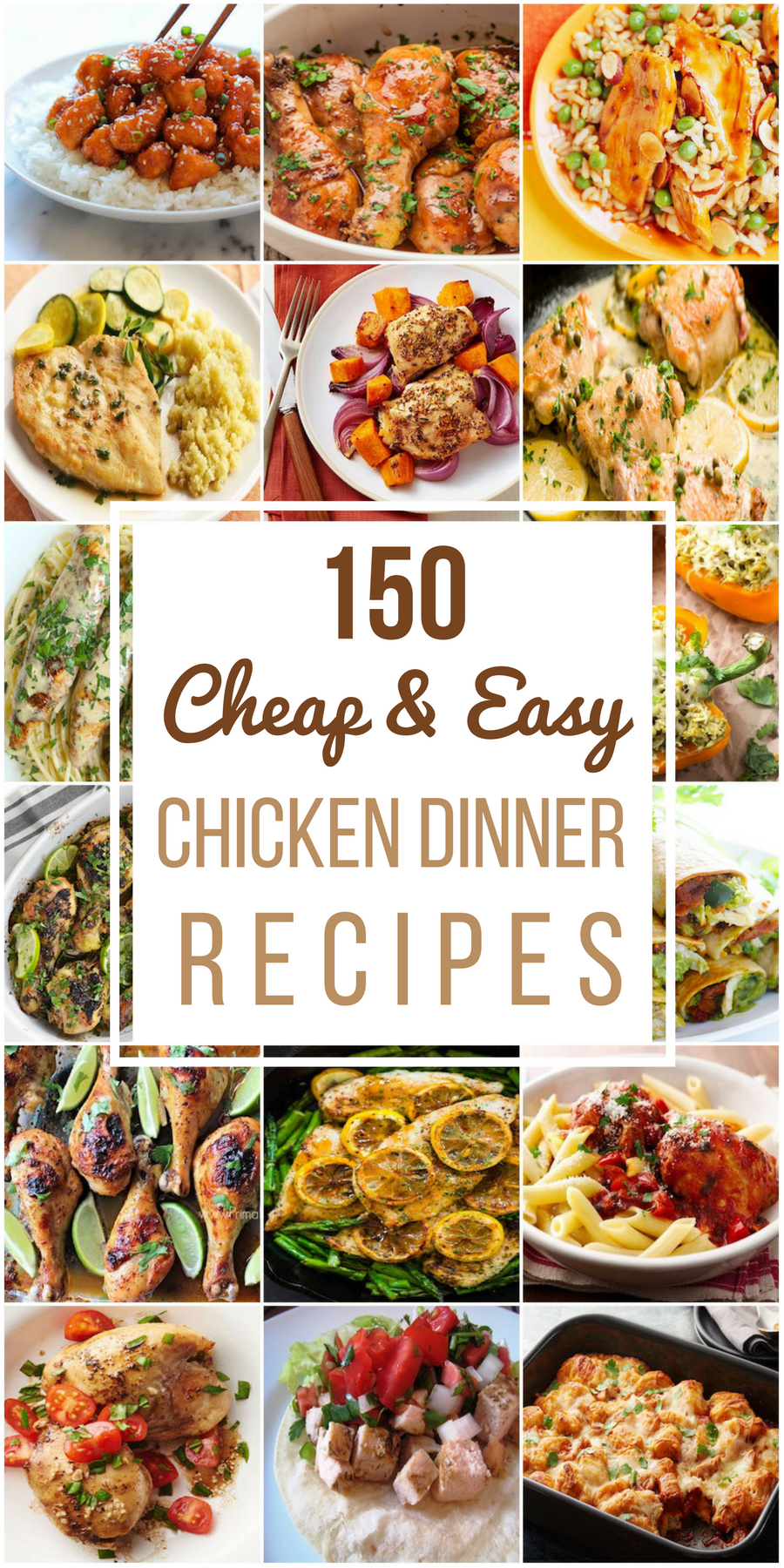 150 Cheap Easy Chicken Recipes Prudent Penny Pincher