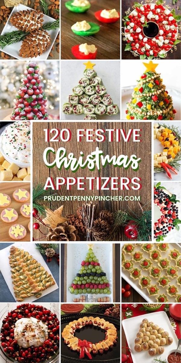 120 Festive Christmas Appetizers