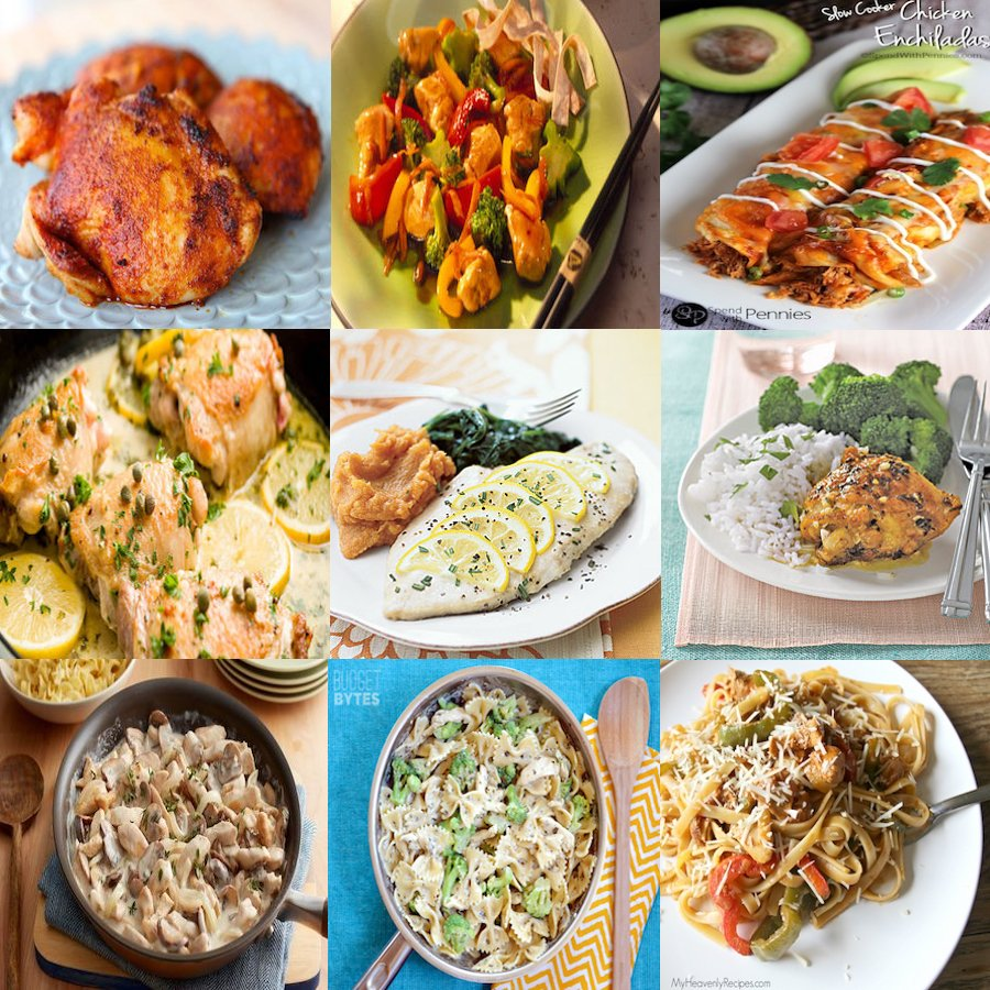 Inexpensive Dinner Ideas: 300 Cheap And Easy Dinner Recipes