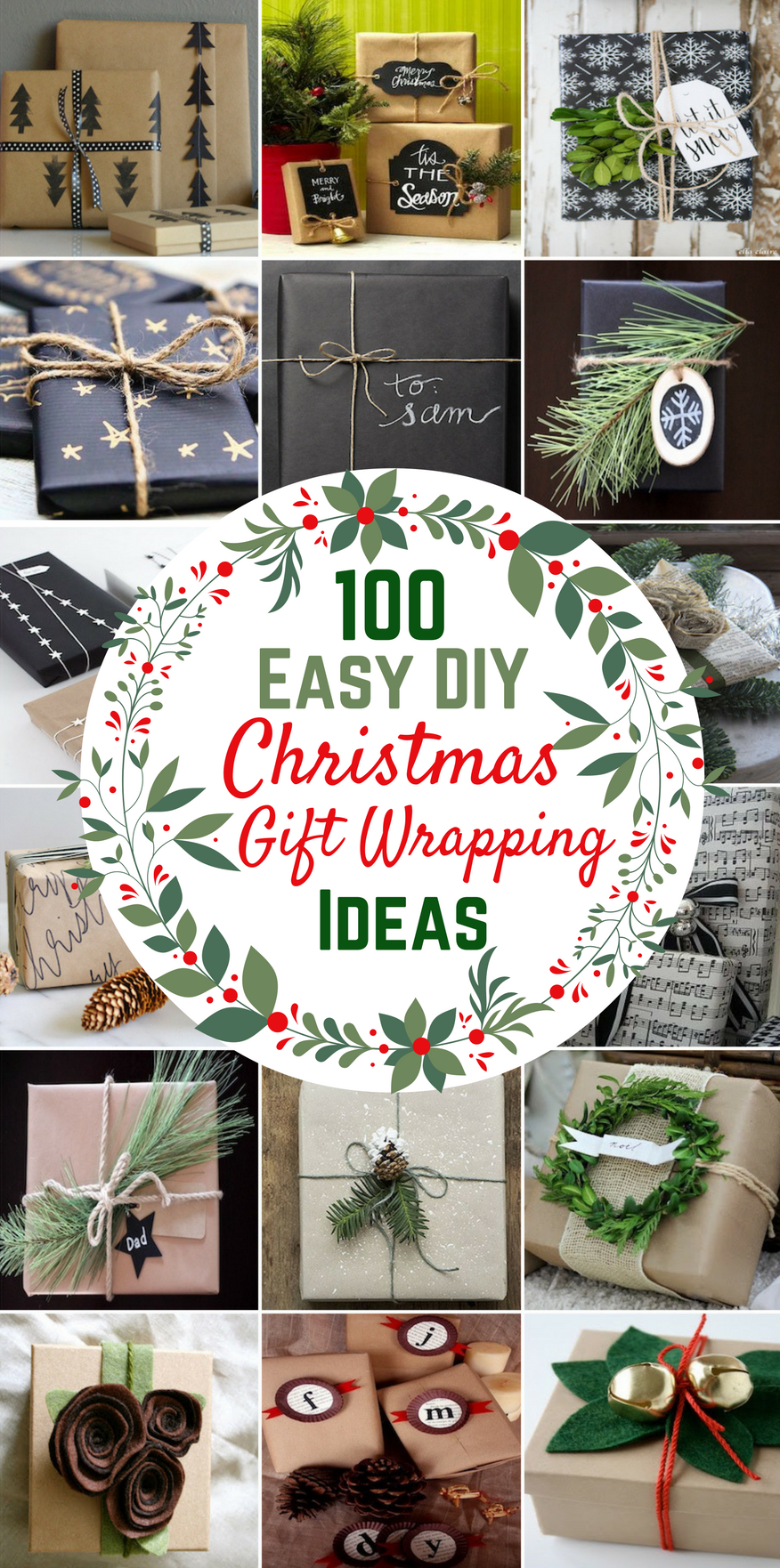 100 Easy Diy Christmas Gift Wrapping Ideas Prudent Penny