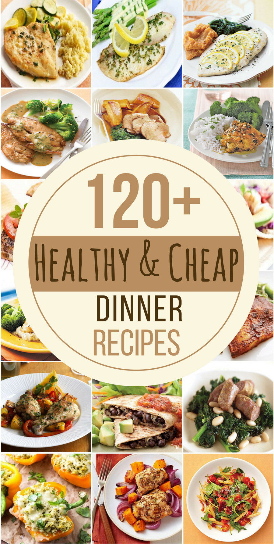 120 healthy and cheap dinner recipes - prudent penny pincher