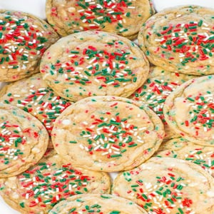 No Roll Holiday Sprinkles