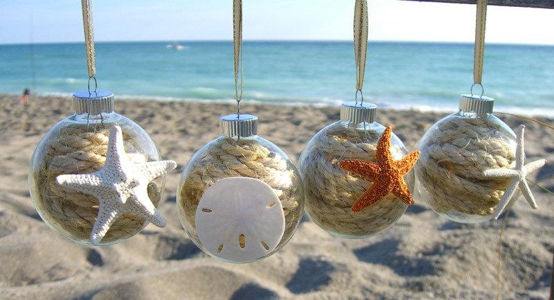 50 Cheap & Easy DIY Coastal Christmas Decorations - Prudent Penny ...