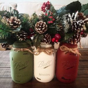 75 Mason Jar Diy Christmas Decorations Prudent Penny Pincher