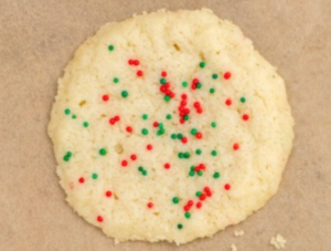 3-Ingredient Sugar Cookies