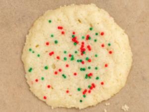 3-Ingredient Sugar Cookies