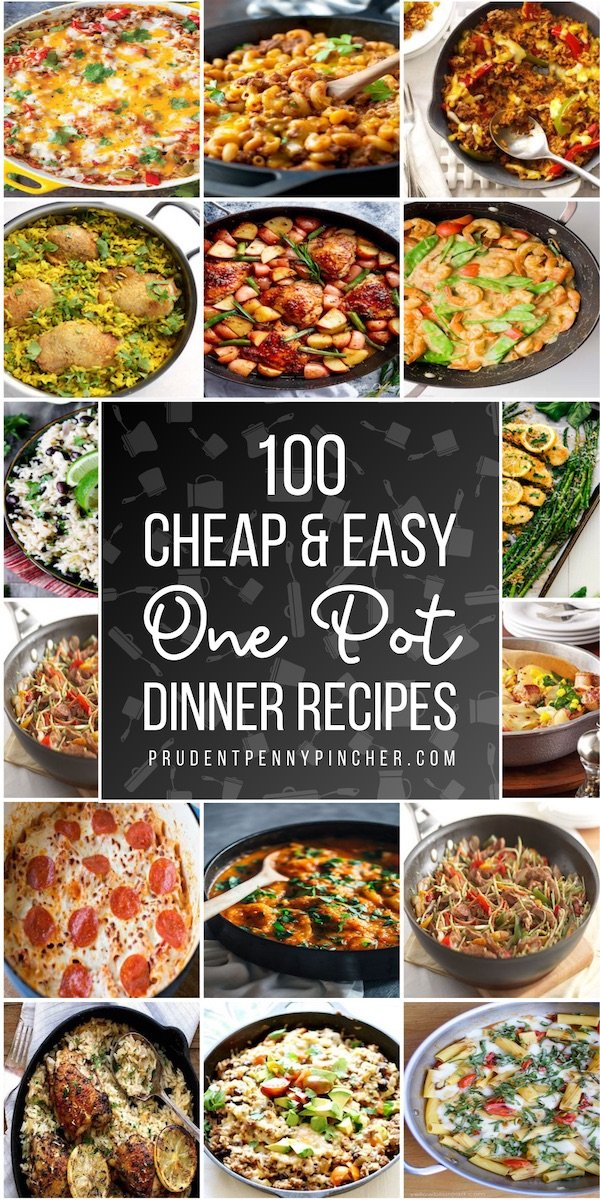 100 Cheap and Easy One Pot Meals