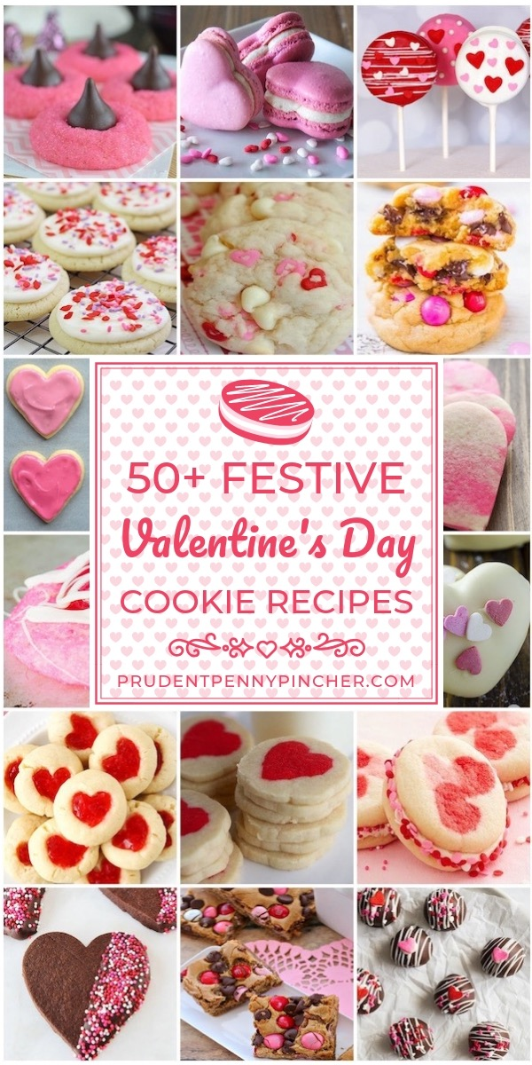 50 Festive Valentines Day Cookies