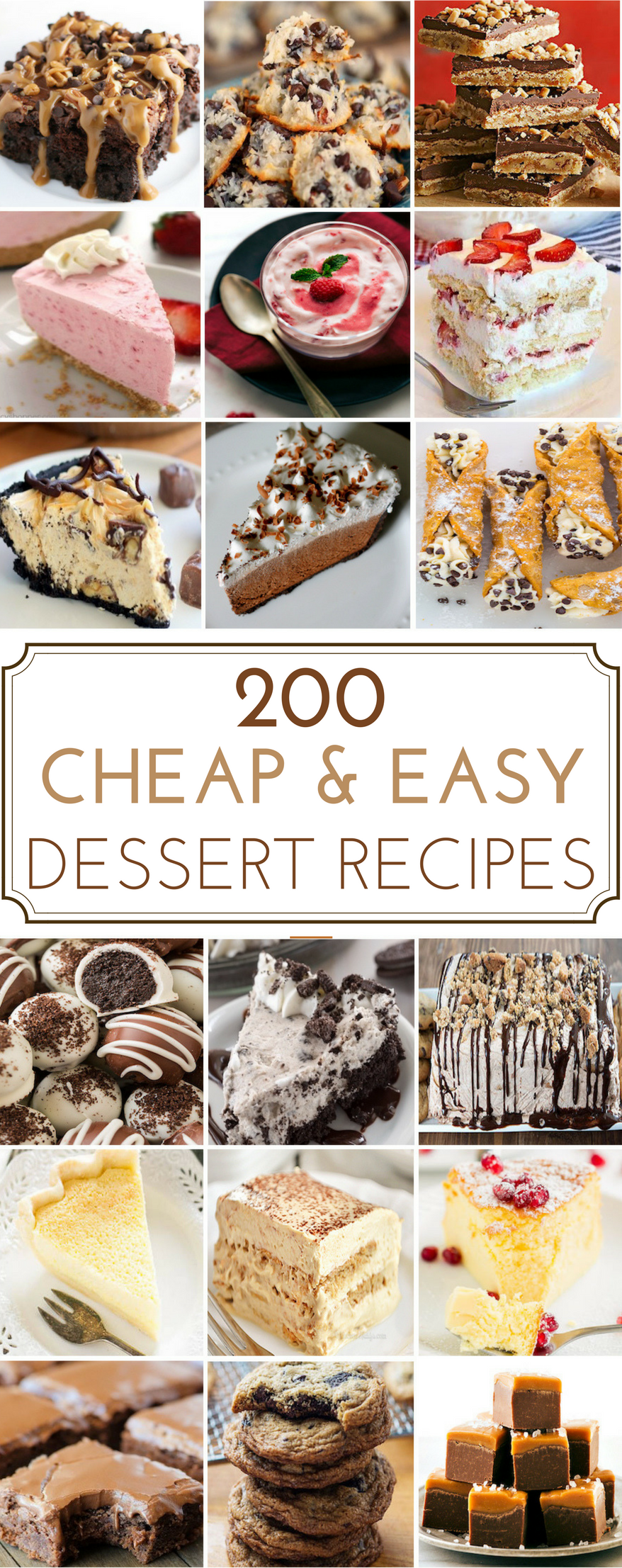 200 Cheap Easy Desserts Prudent Penny Pincher