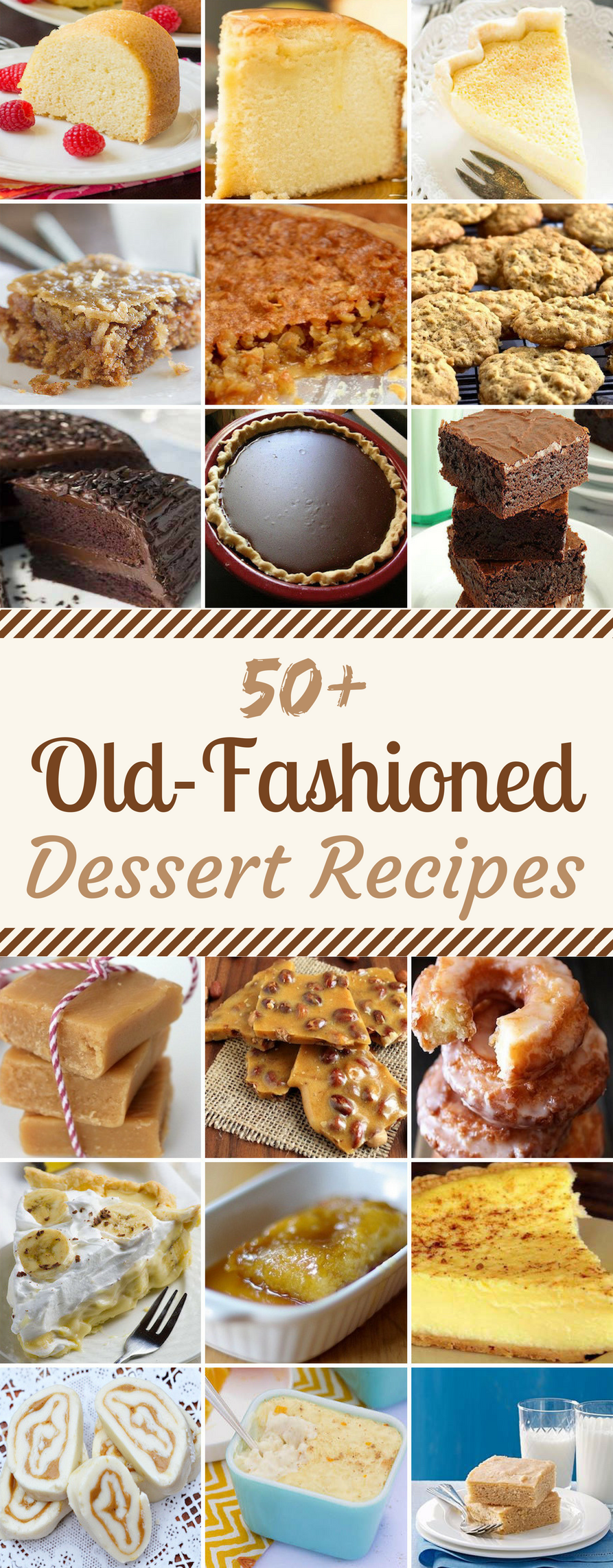 50 old fashioned dessert recipes   prudent penny pincher