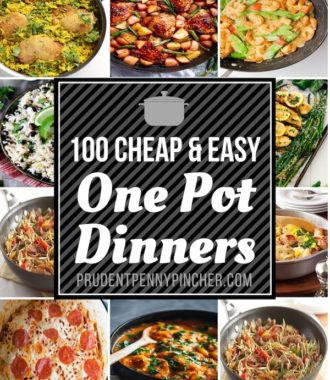 100 Cheap and Easy One Pot Dinner Recipes
