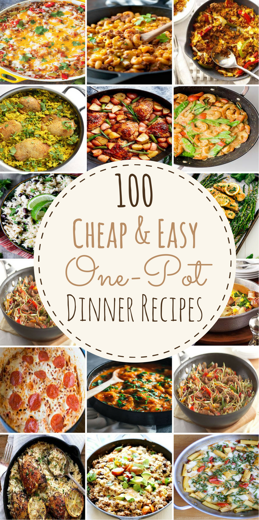 cheap and easy recipes with one pot