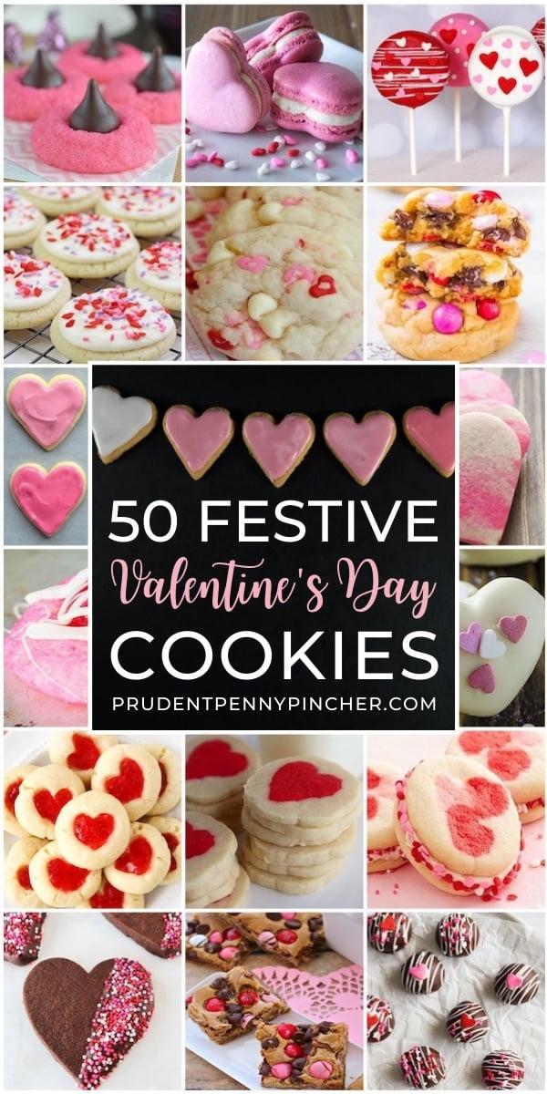 50 Festive Valentine's Day Cookies