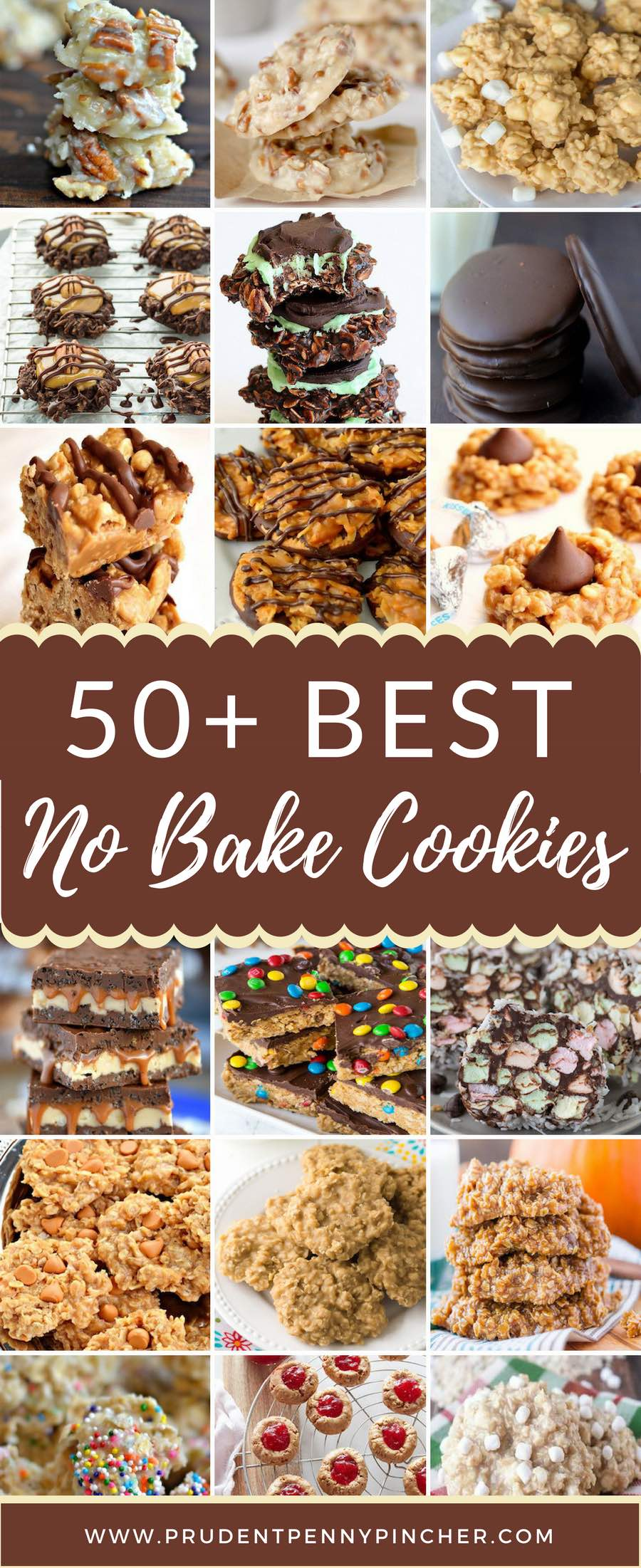 50 Best No Bake Cookies