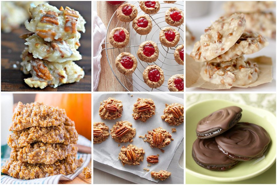 No Bake Fruit and Nut Cookies
