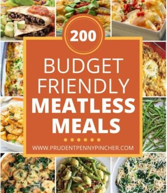 200 Budget Friendly Meatless Meals