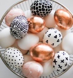 Chic Easter Egg Decorations