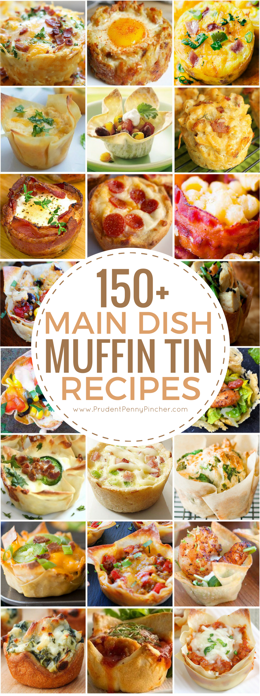 150 Main Dish Muffin Tin Recipes Prudent Penny Pincher