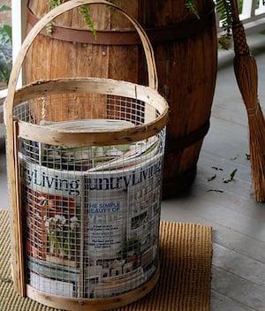 Magazine Holder Wire Basket