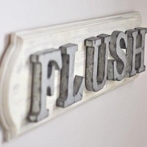 Industrial Farmhouse Flush Sign