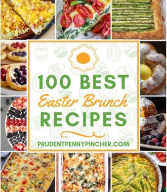 100 Best Easter Brunch Recipes #brunch #breakfast #recipes #easter