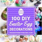 100 DIY Easter Egg Decorations
