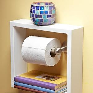 100 Cheap and Easy DIY Bathroom Ideas - Prudent Penny Pincher