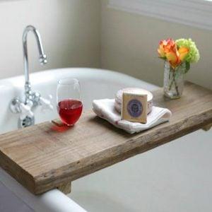 Rustic Bath Caddy