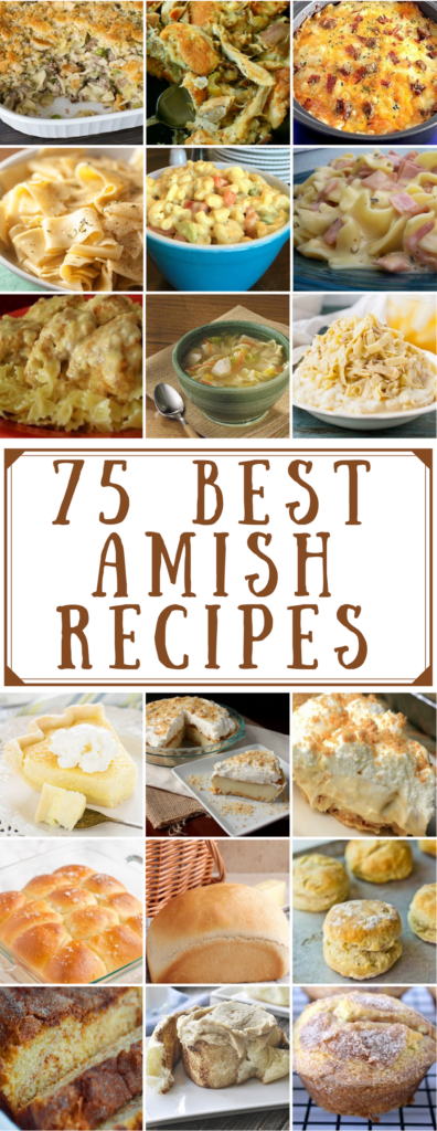 75 Best Amish Recipes Prudent Penny Pincher
