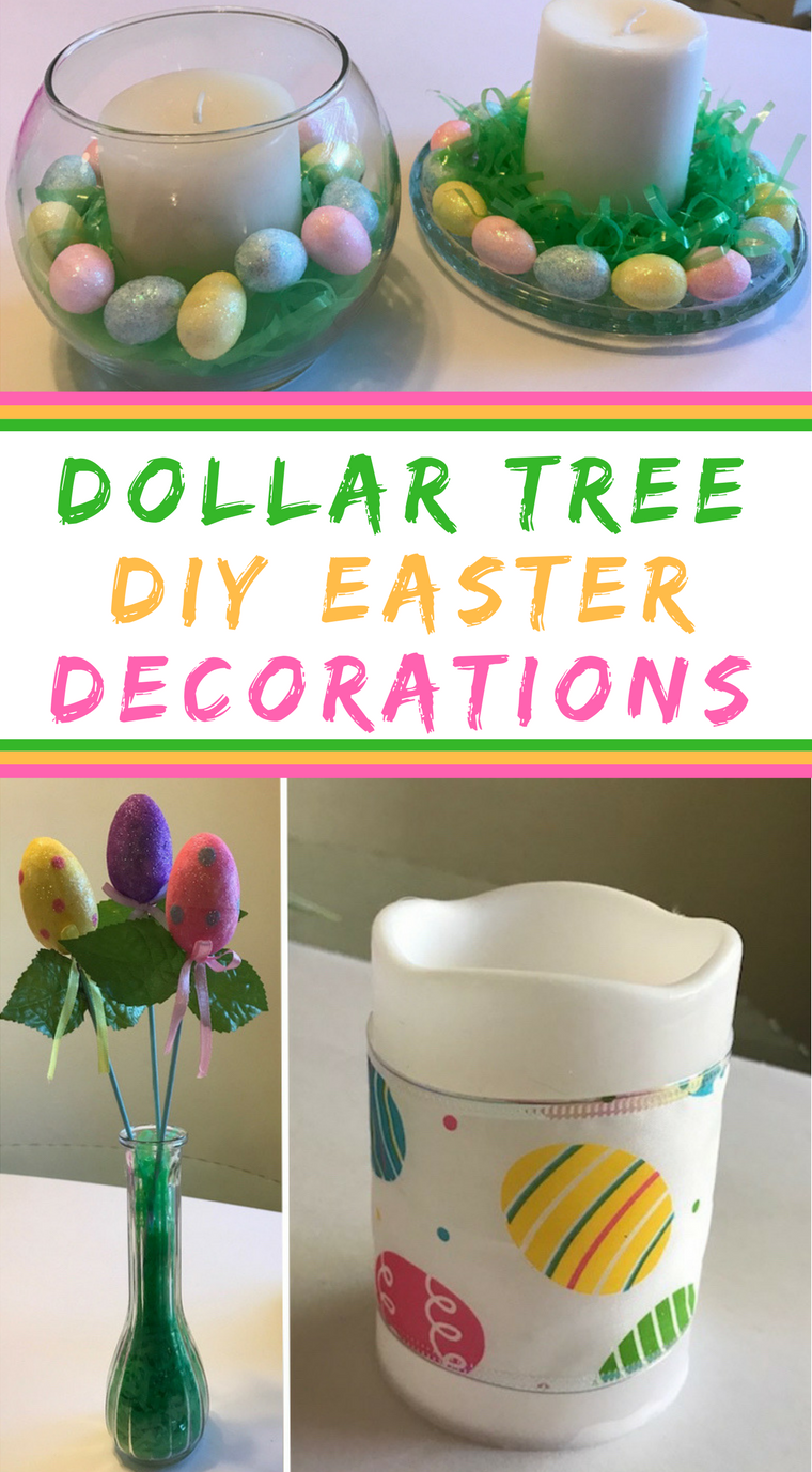 Dollar store diy easter decorations prudent penny pincher Images for easter decorations