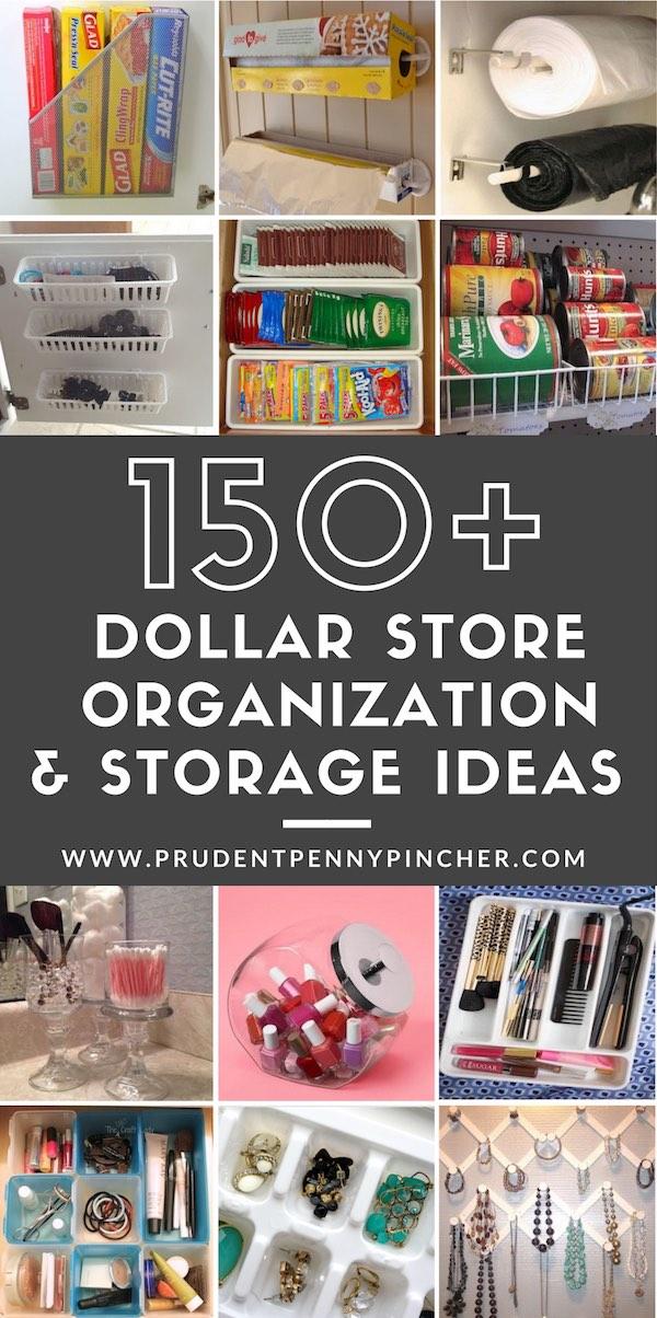 150 Dollar Store Organization & Storage Ideas