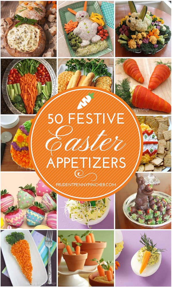 50 Festive Easter Appetizers