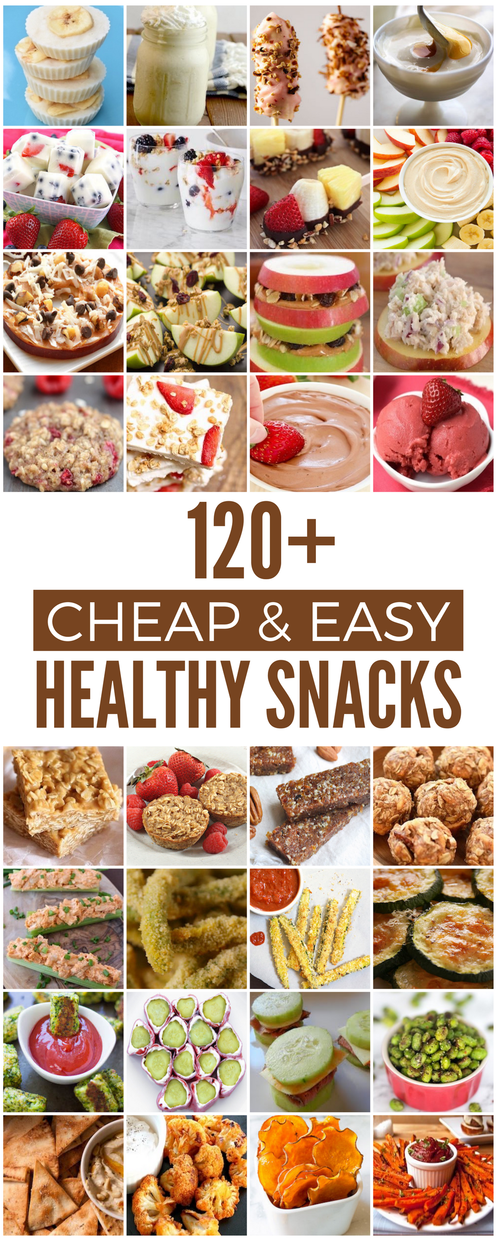 120 Cheap Healthy Snacks Prudent Penny Pincher