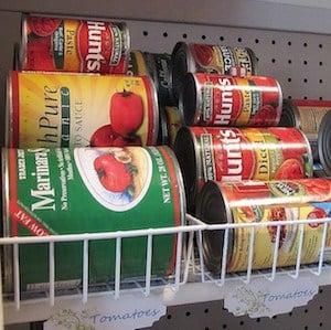 Canned Food Organization
