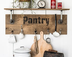 17 Cheap And Easy DIY Kitchen Decor Ideas